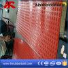 Циновка крена листа красного цвета промышленная SBR резиновый