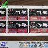 Печатание стикера лазера компьтер-книжки (SZ3148)