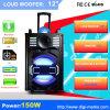 De openlucht Draagbare Stereo Draadloze Spreker van de PA Bluetooth met leiden