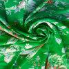 印刷された繭紬の生地-1