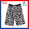 Cortocircuitos de la playa de los hombres de la sublimación de la ropa de deportes del diseño de la manera de Healong