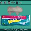 De zonnige Sanitaire Stootkussens van het Merk van het Meisje