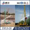 Maquinaria de construção da fundação da máquina da condução de pilha Dfls-20