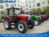 125 HP 4WD 바퀴 트랙터 영농 기계를 위한 농업 트랙터