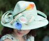 Kleid-Strohhut-Sommer-Hüte der Dame-Sun Wholesale