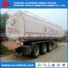 Buque estándar total del gasoducto/de petróleo del Tri-Árbol 45m3 45000 litros de gasolina de acoplado del depósito