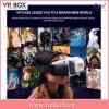 Caixa do cartão 3D Vr de Google para os vidros video