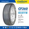 Neumático de coche para estación de invierno, patrón de nieve neumático 185 / 75r16c