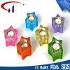 Suporte de vela de vidro de Tealight da melhor forma do Pentagram do Sell (CHZ8035)