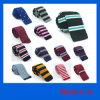 La plus défunte relation étroite en soie rayée de Knit, cravate de Knit