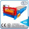 屋根ふきシートの形作る波形を付ける鉄シートロール機械、冷たい電流を通すラインを作る