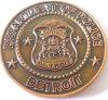 moeda 3D militar para a moeda do desafio (m-C06)