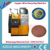 1-20mm 100kg/H Azs-400m Cable Granulator Machine