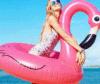 Кольцо заплывания PVC формы фламингоов раздувное