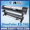 キャンバスPrinting Machine Sinocolor ES740、Epson Dx7 Printhead、2880dpiとの1.8m