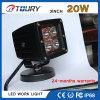 Indicatore luminoso 20W del lavoro di illuminazione LED del punto dell'automobile dei ricambi auto del CREE