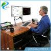Pantalla del soporte dos de Jeo Ws12 canalización vertical ajustable del montaje del monitor del sitio de trabajo del monitor de la rotación de 360 grados