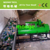 洗浄を押しつぶすプラスチックペット天然水のびん機械をリサイクルする
