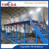 고급 기름을 만드는 식물성 콩기름 정련소 기계