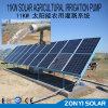 7.5kw (60m3 / h) Pompe DC solaire en acier inoxydable pour boire de l'eau