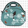鳥の熱絶縁されたピクニック昼食は子供の学校給食ボックス容器袋を袋に入れる