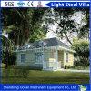 De lage Villa van het Staal van de Koolstof Milieuvriendelijke Prefab Lichte van het Comité van de Sandwich en de Lichte Structuur van het Staal
