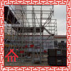 Extrémité en acier de registre et extrémité de support pour l'échafaudage de construction