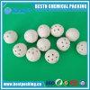 Bola de cerámica del alúmina poroso para Hydroprocessing