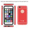 Caso móvel impermeável com tampa traseira do metal para o iPhone 6 5.5inch positivos (RPTMLPRO-6P)