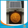 Feu de circulation solaire d'économie d'énergie verte