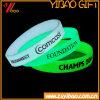 Incandescenza di alta qualità nel braccialetto luminoso scuro del silicone (XY-BR-027)