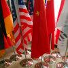 По-разному виды флагов стола/деревянного флага Поляк и флага таблицы стойки