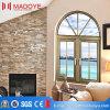 Lichtbogen-Dach-Aluminiumflügelfenster-Fenster mit Spiegel-Glas (M-CW-108)
