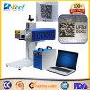 Machine d'inscription de laser de fibre de commande numérique par ordinateur de code de plastique/en métal de Jinan 2D