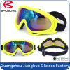 Neon Yellow Frame Foam Rembourré Dirt Bike Motor Riding Motorcross Lunettes de moto