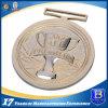 Medaglione antico di piastra metallica dell'oro di alta qualità per gli eventi