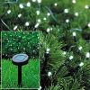 Lumières féeriques actionnées solaires de vacances de DEL pour la décoration extérieure