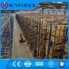 Racking de aço resistente do armazenamento do armazém industrial