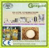 Máquinas de processamento cheias do feijão de soja da planta
