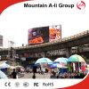 exhibición de LED P10 de la publicidad al aire libre de 960mm*960m m con la función video