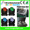 Rich Color Mixed Effect 7PCS 4in1 LED Moving Head Beam Stage Light