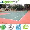 防水および紫外線抵抗のゴム製バスケットボールのフロアーリング