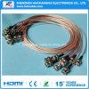 De Prijs van de fabriek voor Rg179 Kabel 1.2m BNC Coaxiaal met de Kabel van de Vlecht