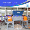 Máquina industrial de la desfibradora del eje de la basura gemela del caucho
