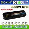 Doppia visualizzazione di LED 6000W per CC dell'invertitore 6kw di fuori-griglia della pompa all'invertitore di corrente alternata Con l'UPS & il caricatore (DXP6000WUPS-20A)