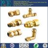 造られた部品を機械で造る高品質の黄銅CNC