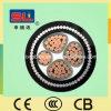 Cable acorazado del cable de transmisión del alambre de acero del conductor del cobre de la envoltura del PVC del aislante de XLPE Yjv32