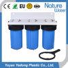 Purificador enorme azul da água do filtro de água de Filteration da tubulação de Traingle 10 ''