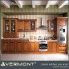 Glass Door (VT-SK-025)를 가진 나무로 되는 Kitchen Cabinet