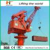이동할 수 있는 바다 드는 기계 Foldable 배 갑판 기중기